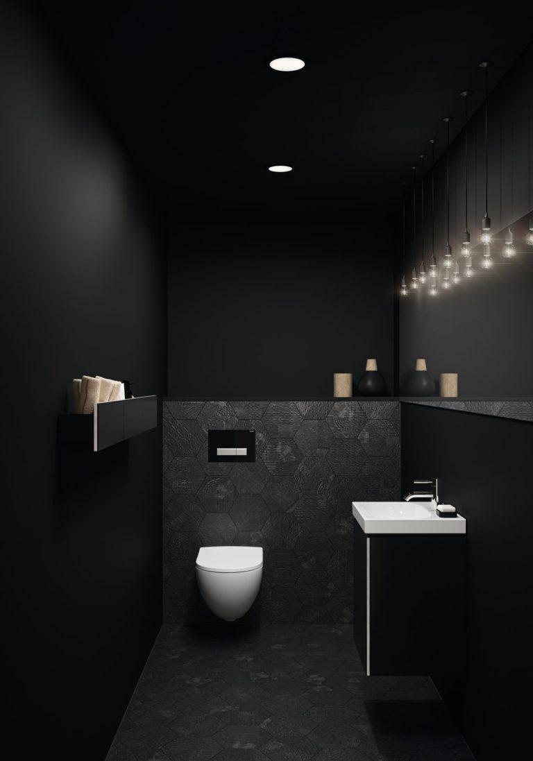 Bagno Nero Consigli Idee Per Il Design E L Arredamento Foto