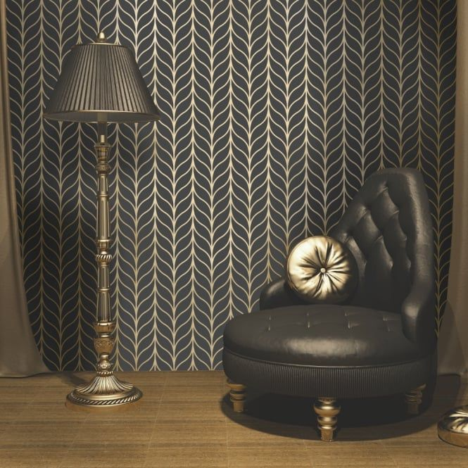 Art Deco wallpapers: design with class and refinement