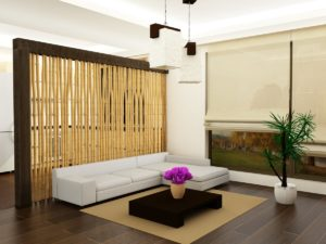 Bamboo in the interior: durability and Eco for home decor