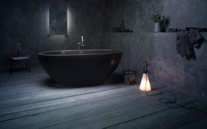 Black bathroom design ideas and tips
