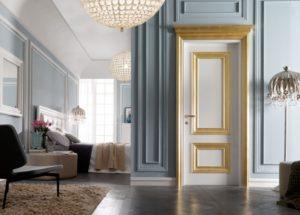 Portes intérieures: types, matériaux, couleurs, idées de design