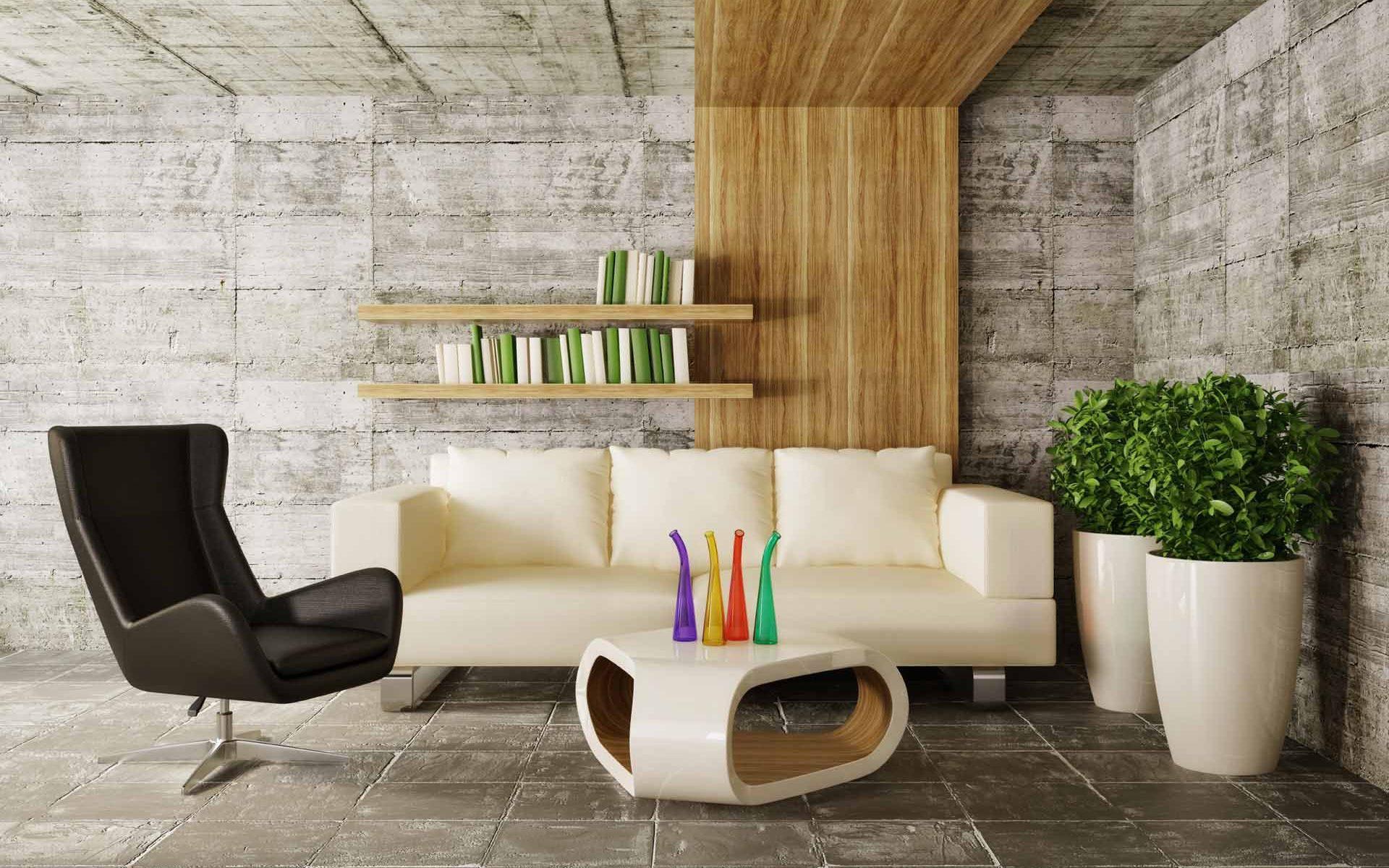 Eco-style interior: the design of the century