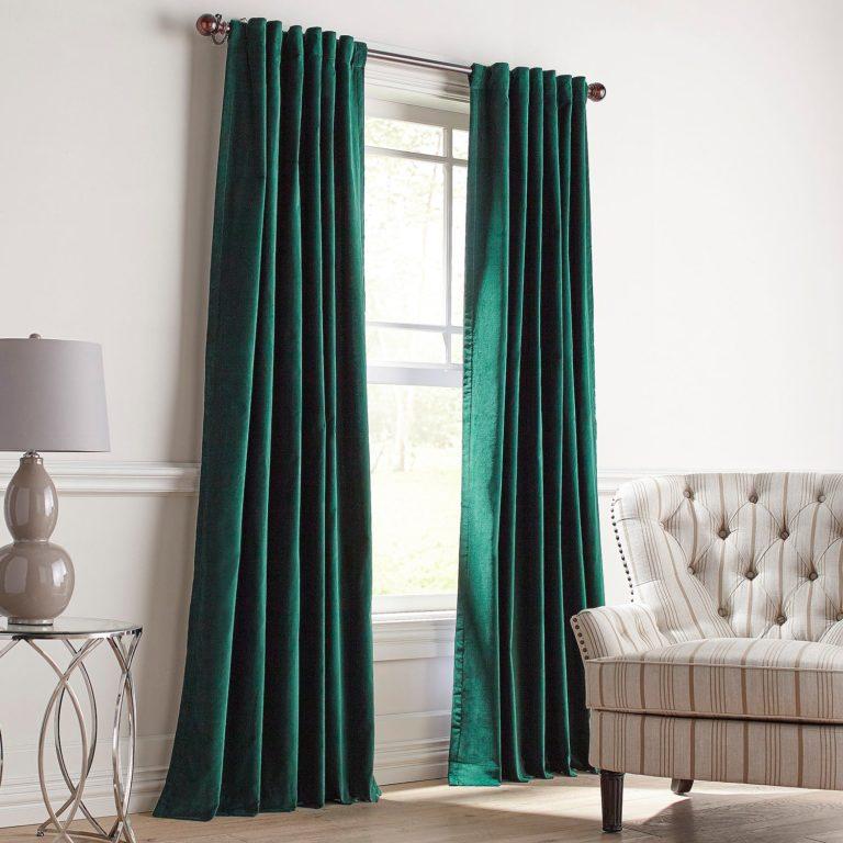 Velvet Curtains Window Decoration, How To Wash Cotton Velvet Curtains