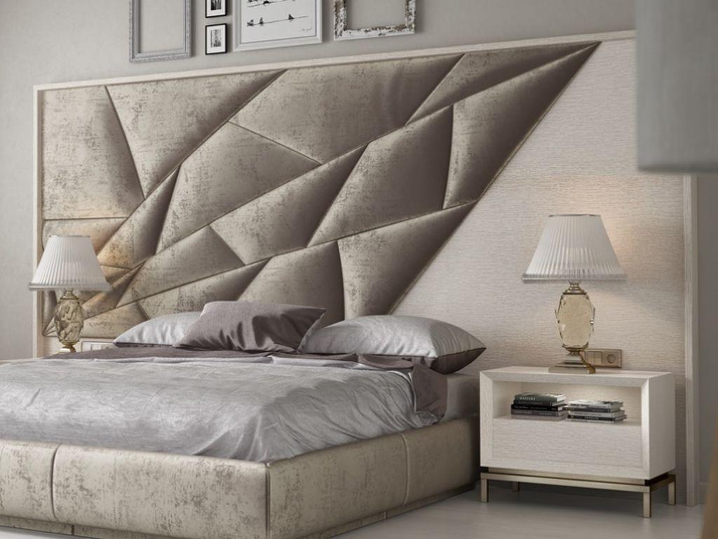 Idee testiera: design originale della testata del letto nella camera da letto