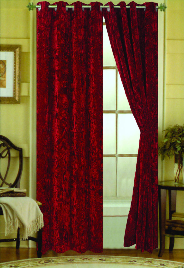 Velvet Curtains Window Decoration Ideas Types Combinations And Colors
