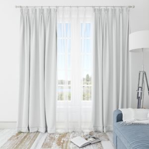 Scandinavian curtains: features, types, materials, colors