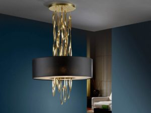 Art deco chandeliers: features and types