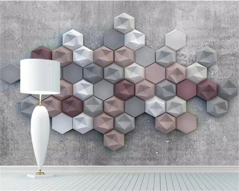 Hexagonal floor and walls tiles: lasting and stylish decor option