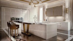 Art deco kitchen design: richness to your home