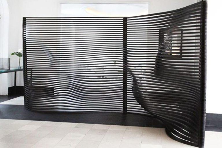 Folding screen: design, types and DIY ideas