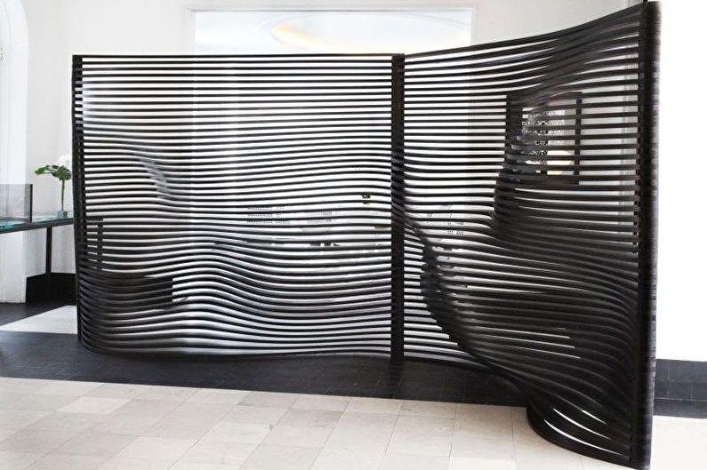 Paravento: design, tipi e idee decorative