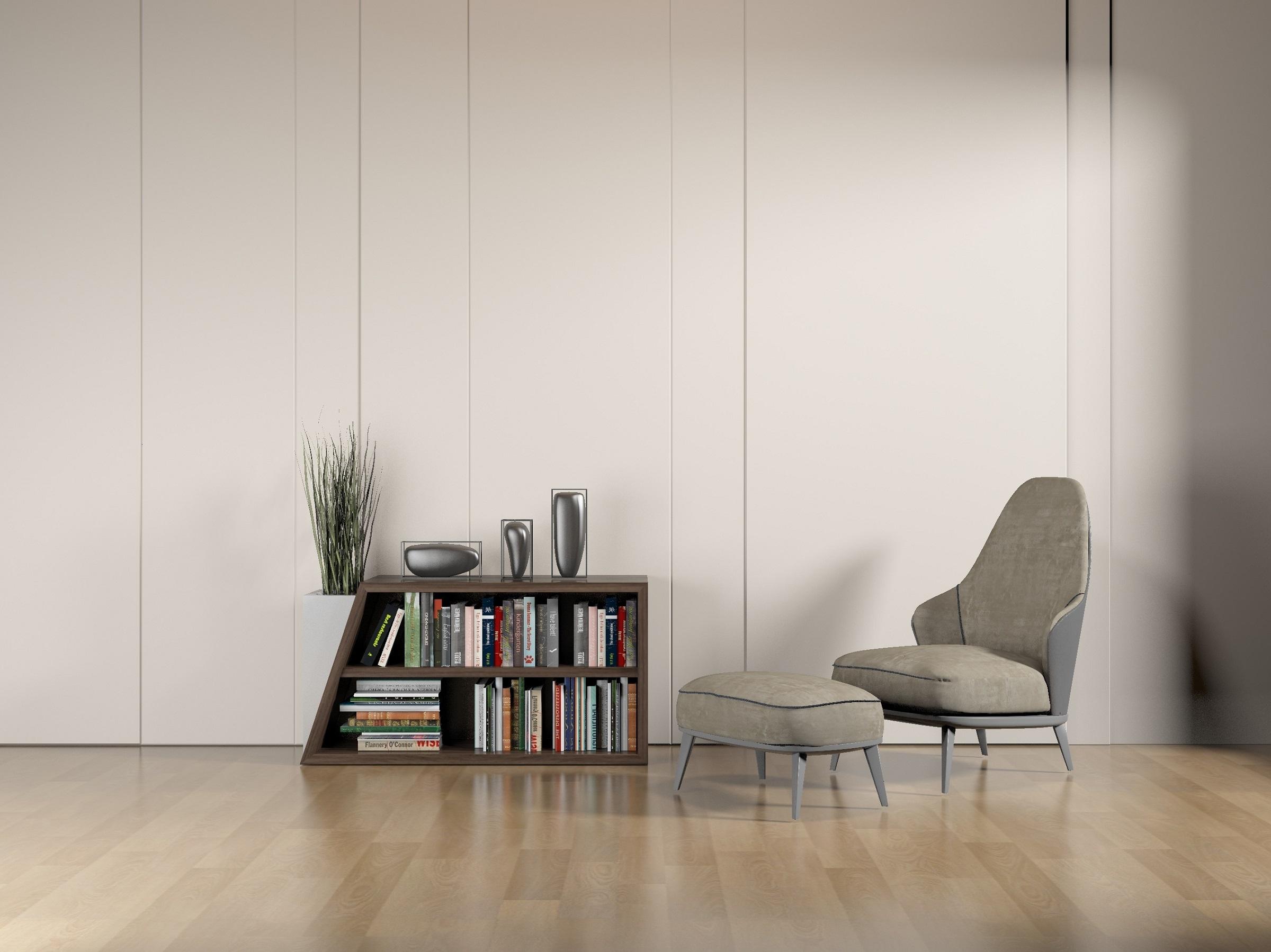 Bibliothèque à domicile: un endroit intelligent, professionnel et confortable pour profiter d'un temps de qualité