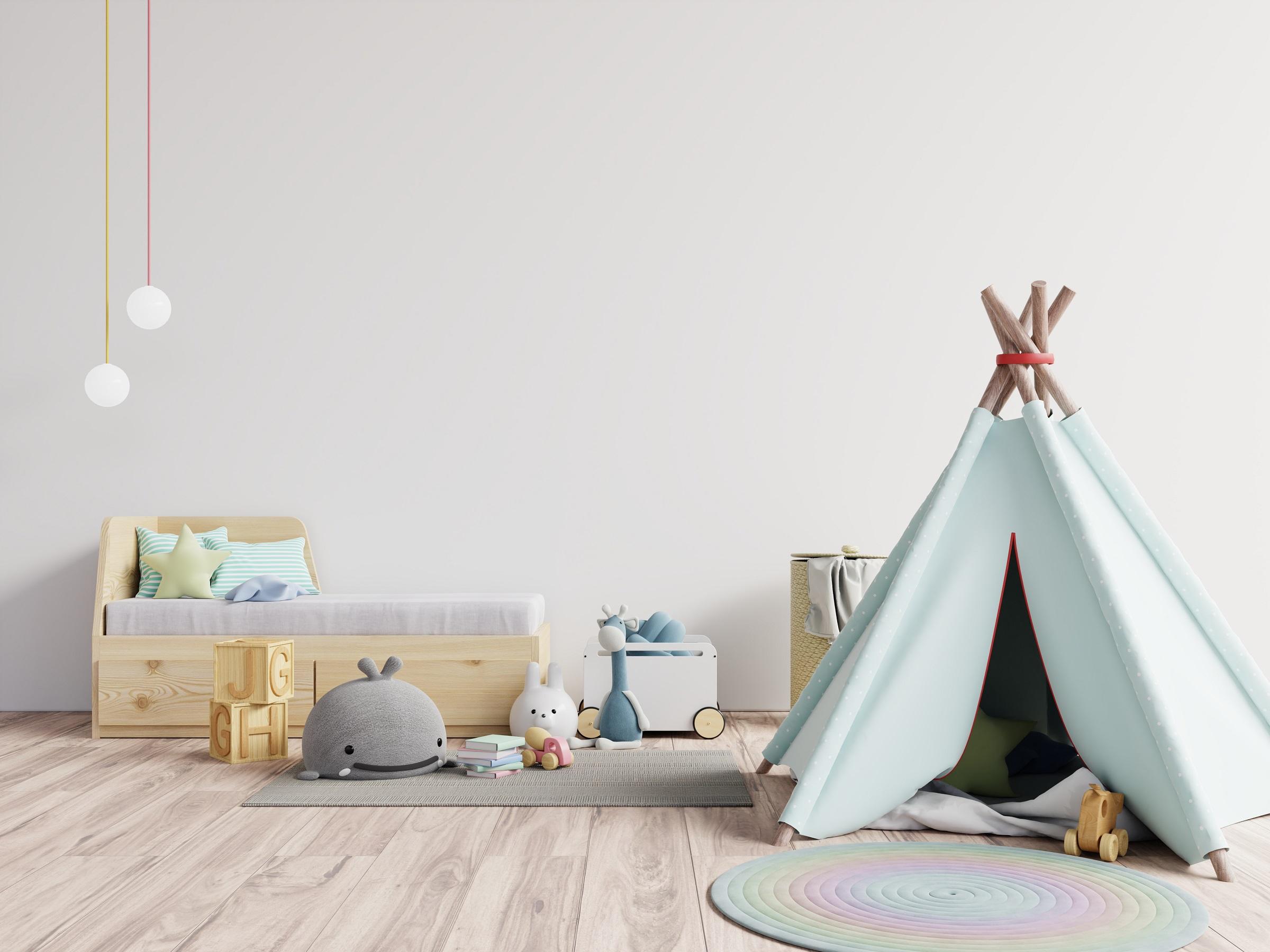 Children's room interior ideas: colors, decor and thematic design