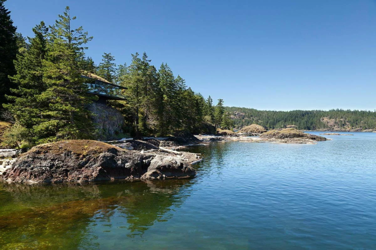 Cliffside house in Canada: symbiosis of architectural genius and the beauty of nature