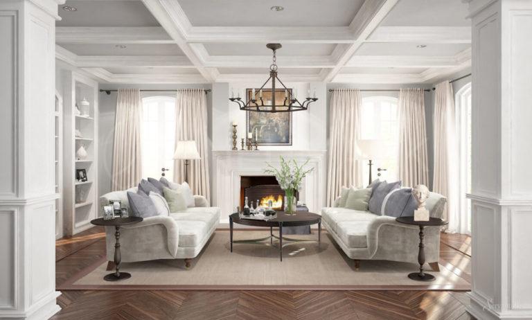 Modern Craftsman Interior Design Features And Ideas Photos