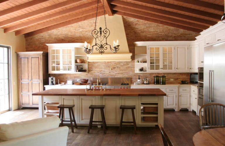Spanish kitchen style: tradition, passion temperament
