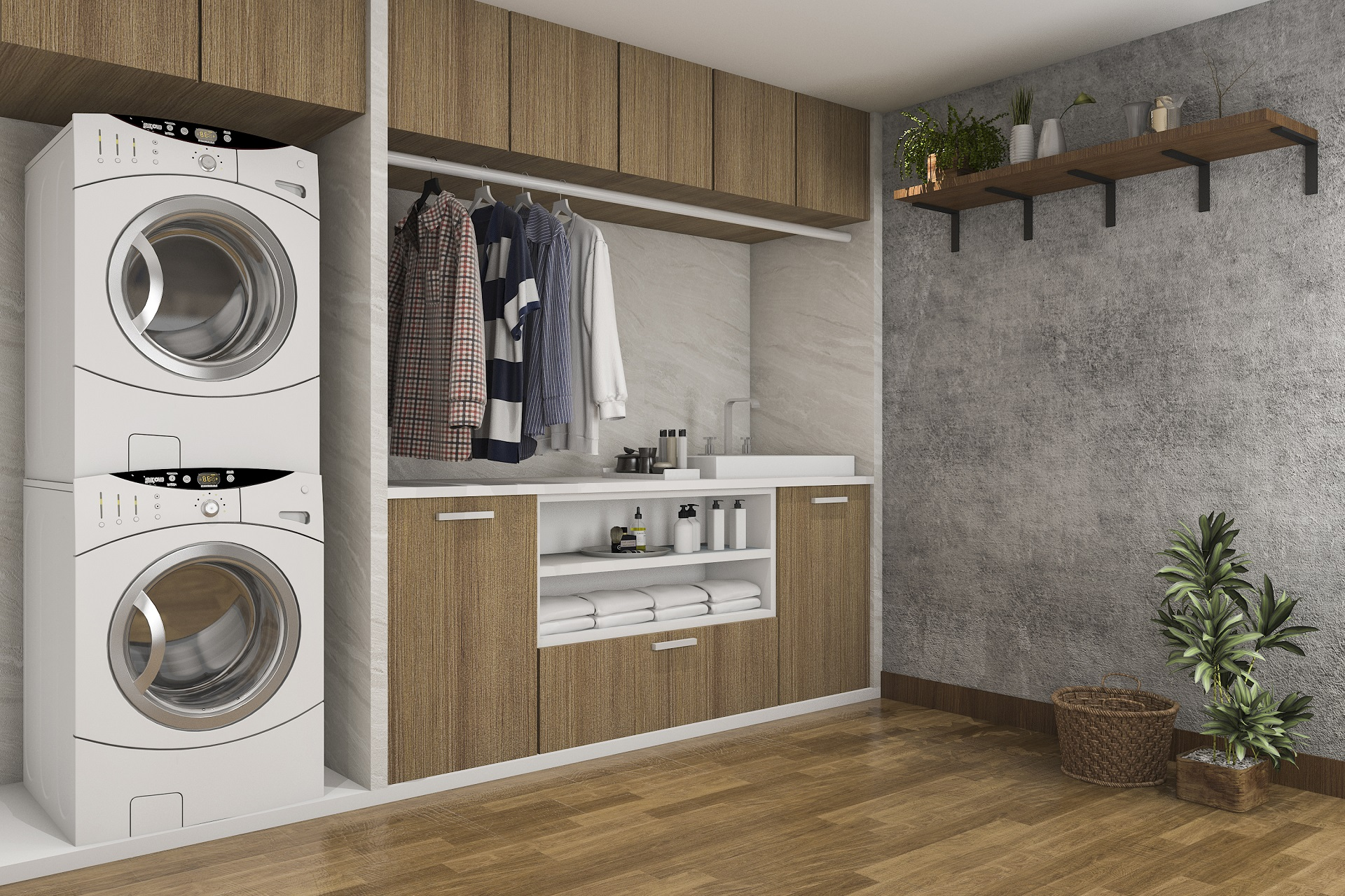6 Clever laundry room ideas
