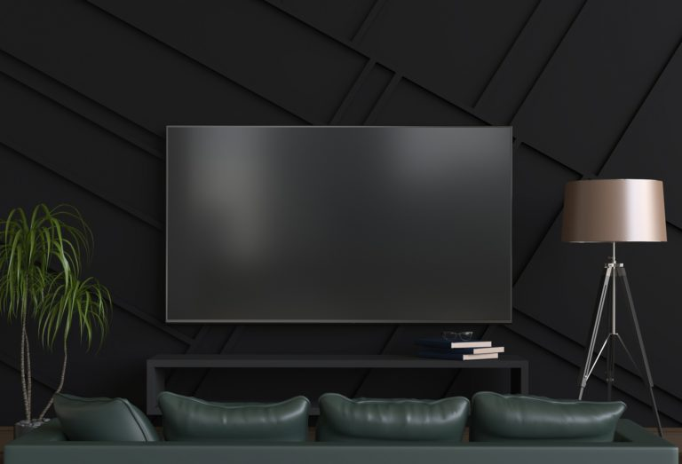 Setting up a simple home theatre with a soundbar and speakers