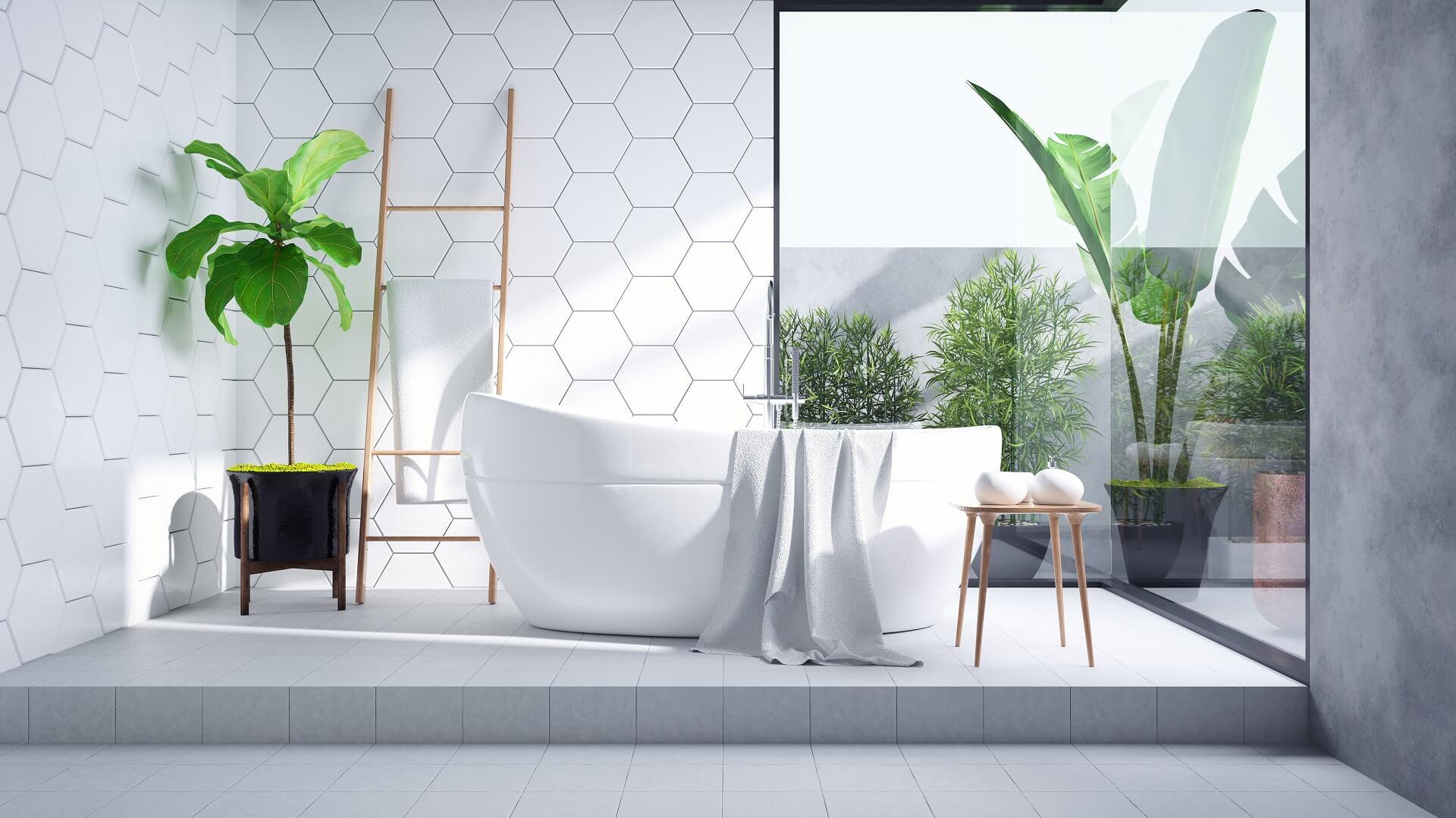 Модная плитка для ванной: главные тенденции 2021