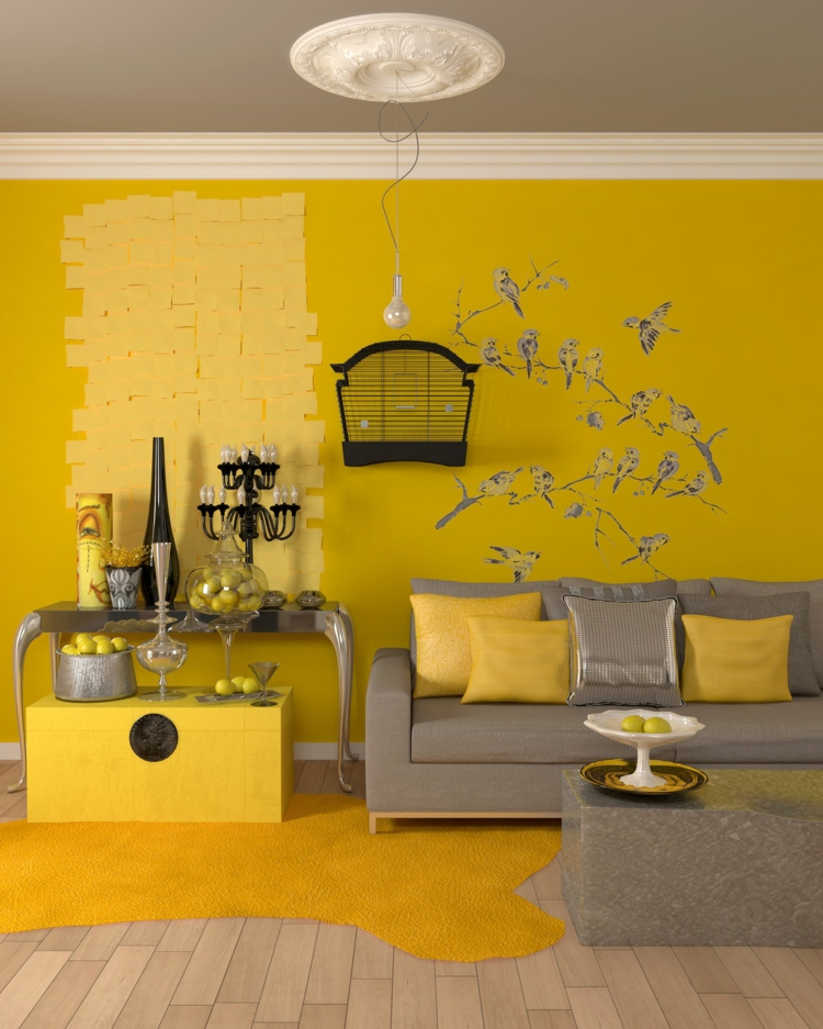 Mustard Yellow Living Room Ideas Photos Hackrea