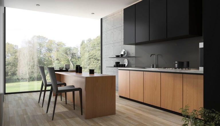 Тенденции кухонных шкафов и столешниц в 2021 году
