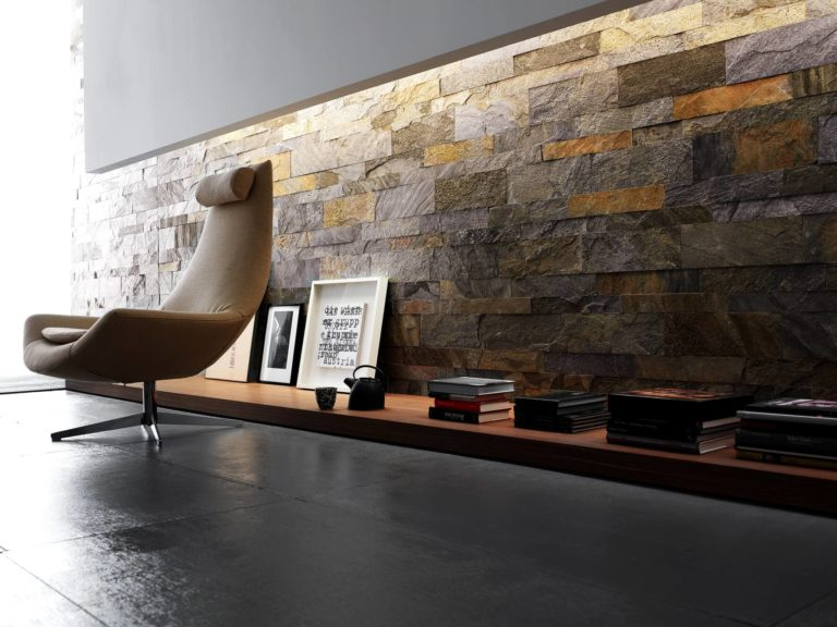 Natural stone for walls: a sophisticated solution for the interior
