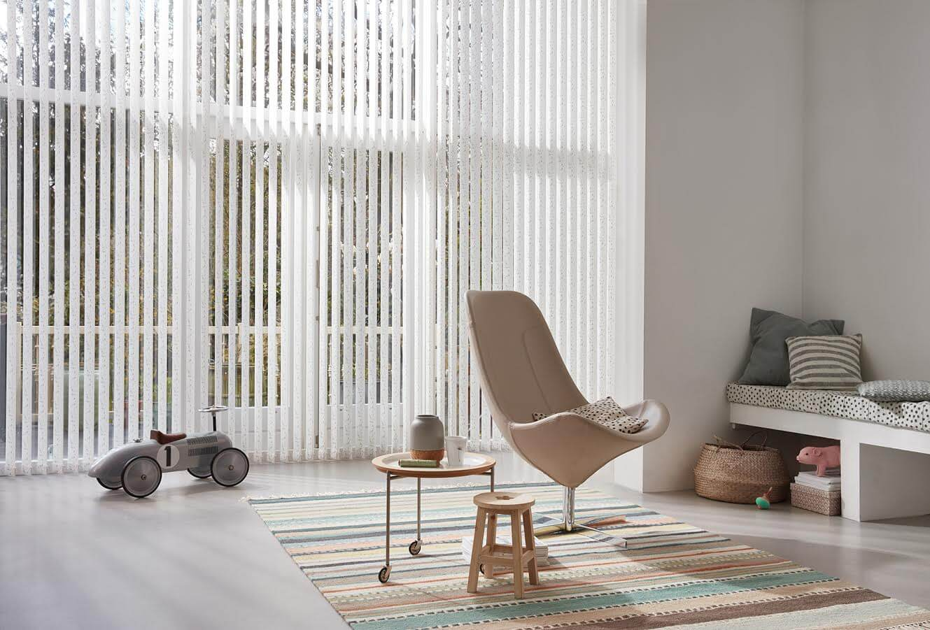 Vertical blinds: types, features, installation, and care