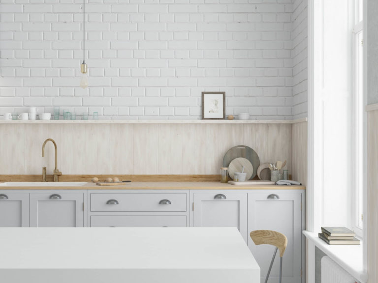 Brick effect tile: an easy way to give your walls a brick look
