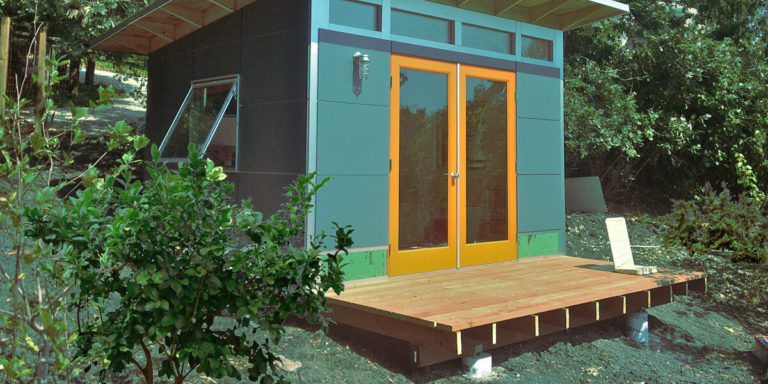 Why build a shed with a deck?