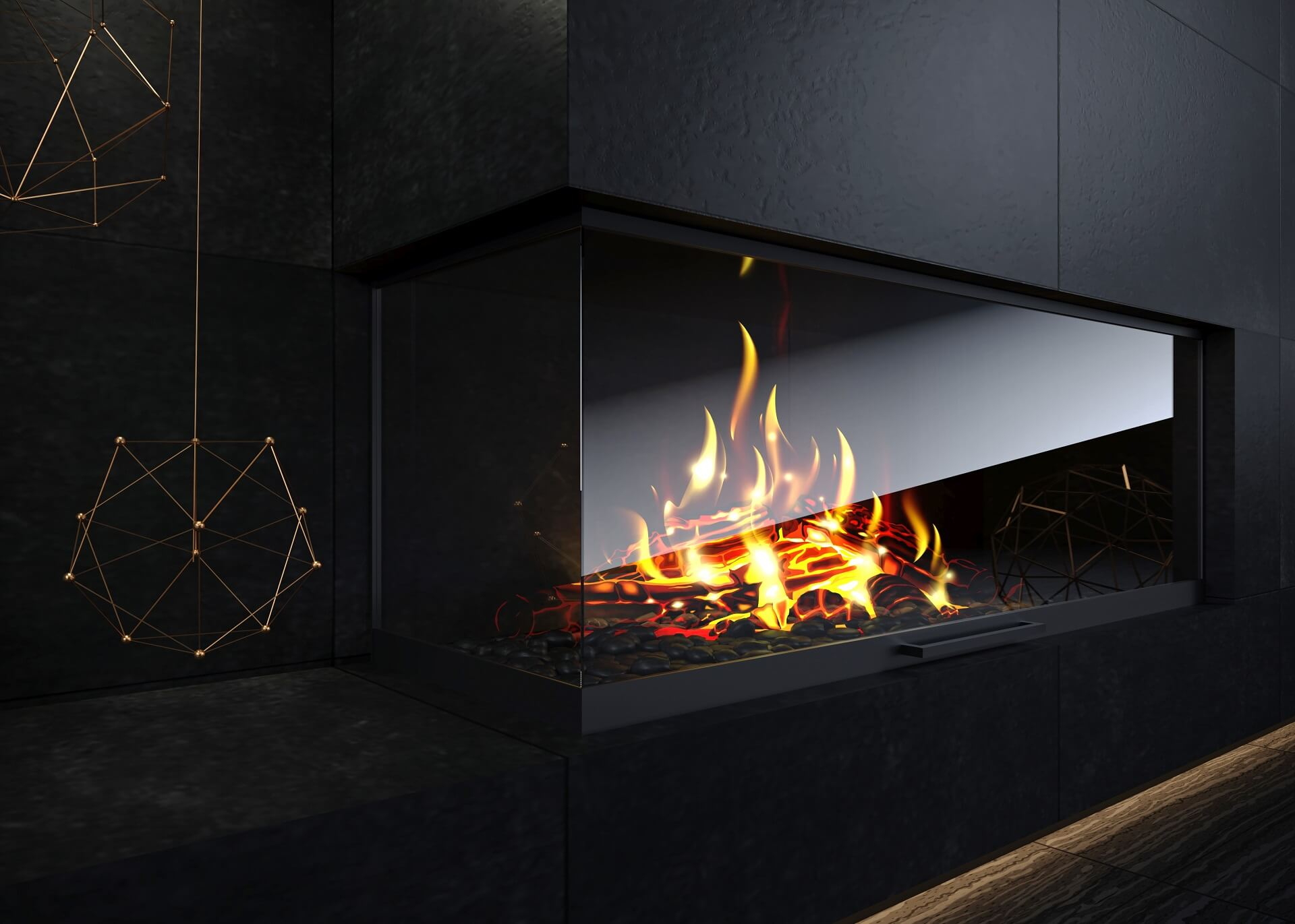 Fireplace trends 2021: most popular design ideas