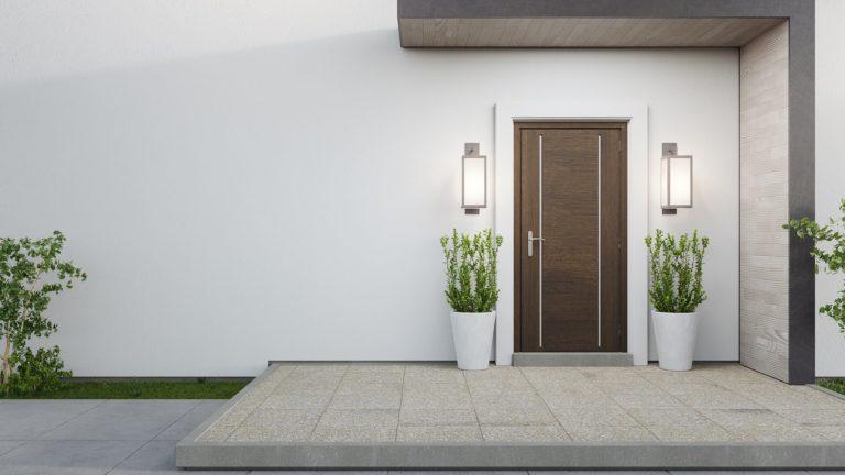 Front door trends 2021: colors, designs & styles