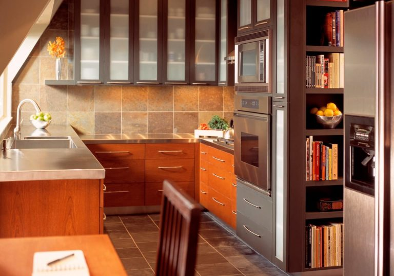 Stylish cookbook display and storage ideas in your kitchen