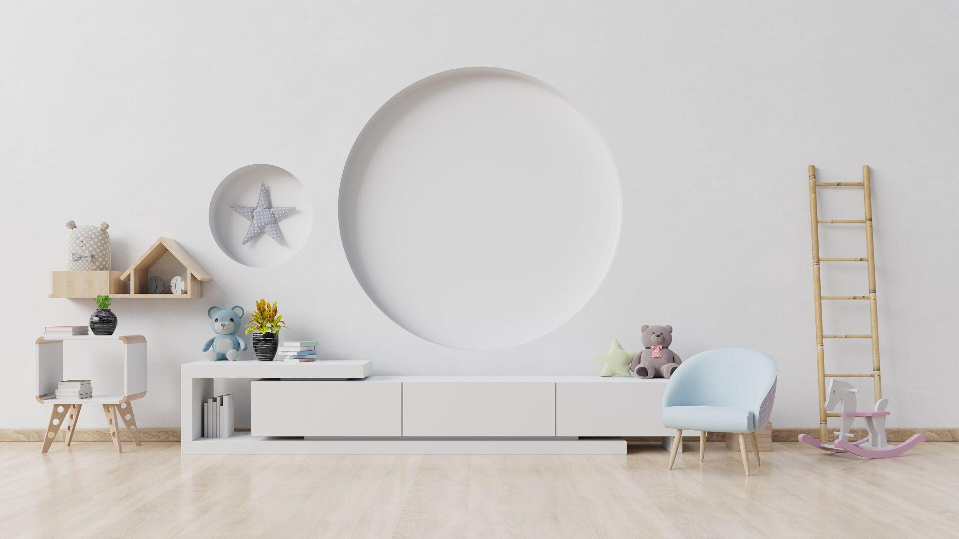 Дизайн детской комнаты 2021: модные тенденденции, цвета, стили