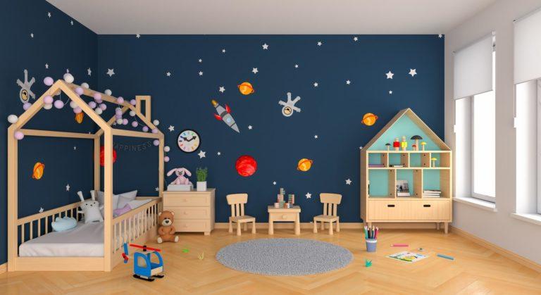Papier peint chambre bébé et enfant: comment le choisir de la bonne manière