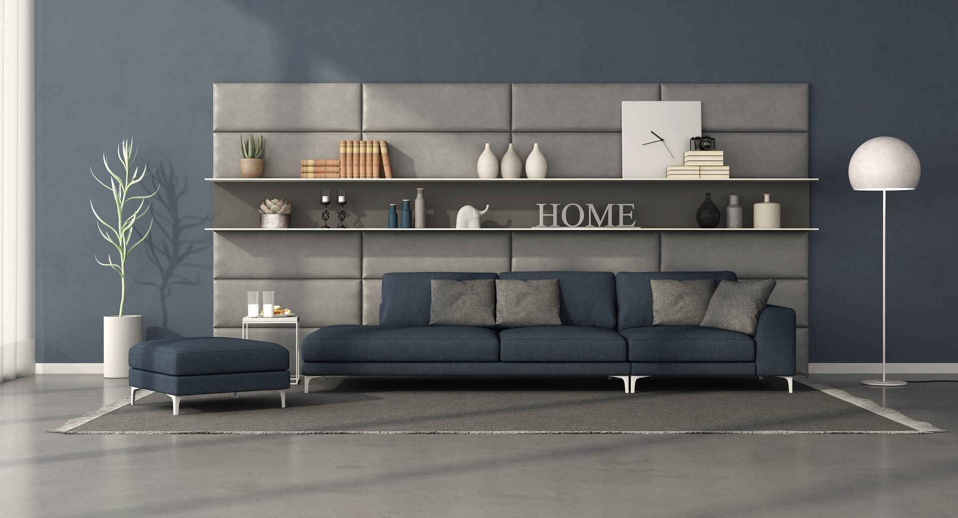 Soft wall panels for wall decoration