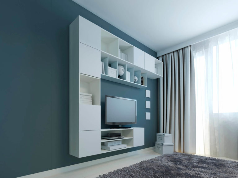 What curtains go well with blue walls? (Rules and ideas)