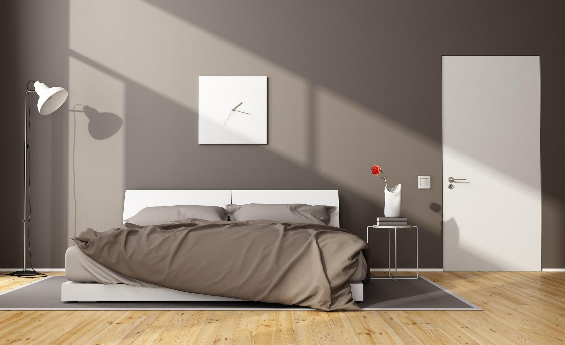 Porta per la camera da letto: materiali, colori, design e idee d'arredo