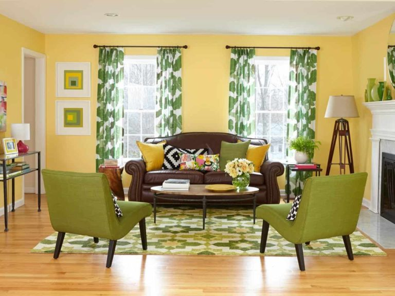 What Curtains Go Well With Yellow Walls, What Color Curtains With Mustard Yellow Walls