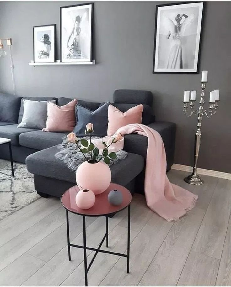 Pink And Gray Living Room Design Ideas 2021 Hackrea