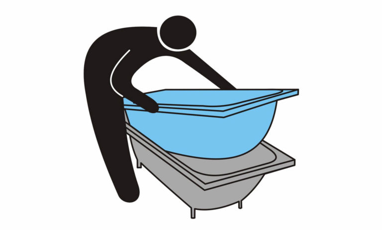 Акриловые вкладыши для ванны: преимущества, цена, особенности монтажа