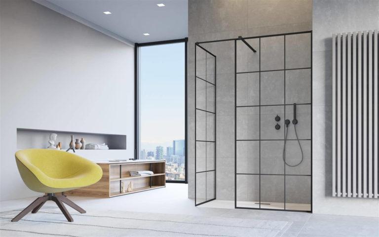 Душевая без дверей: 17 современных идей (с фото)