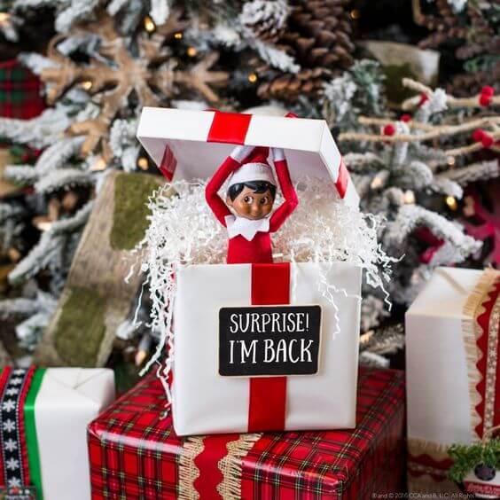 Elf on the Shelf 2021: idee interessanti + 20 foto per stupire i vostri bambini
