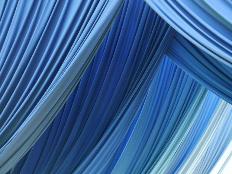 Curtain fabric types: main materials and practical selection tips with photos