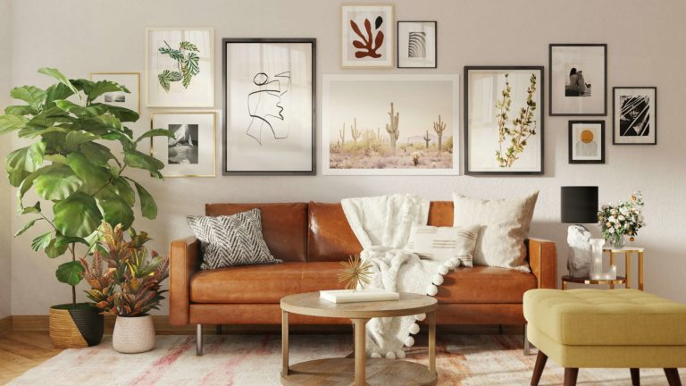Coffee table for brown leather couch: 8 stylish ideas for a perfect result