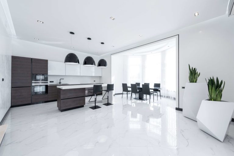 How to restore shine to marble floors: 6 practical ways for a perfect result