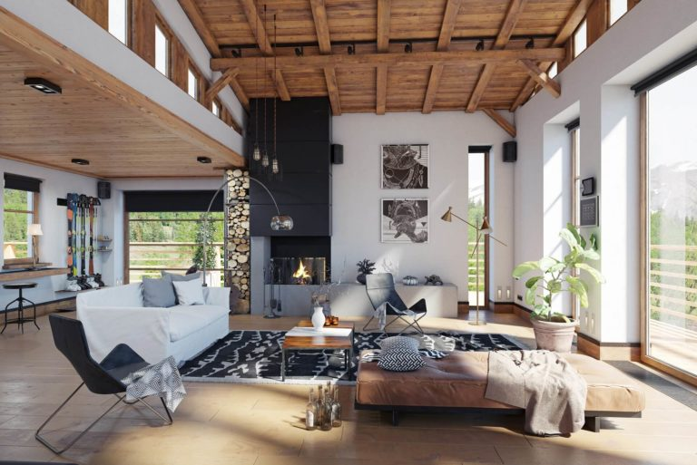 How to achieve a modern farmhouse vibe with reclaimed wood